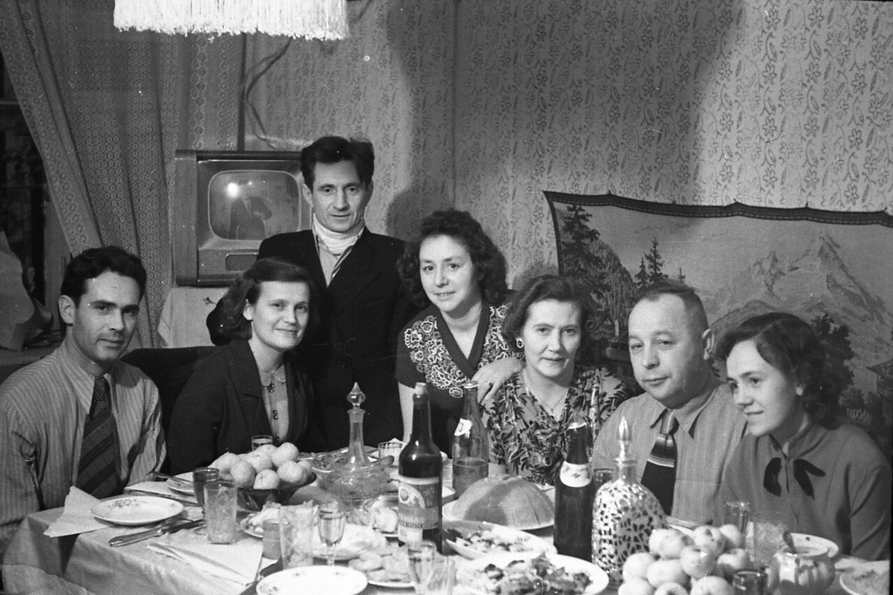 Накануне Нового года. 50-е.