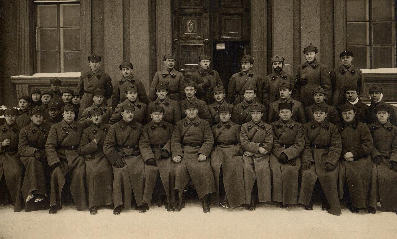 Командиры Карельского погранотряда. Около 1925 г.