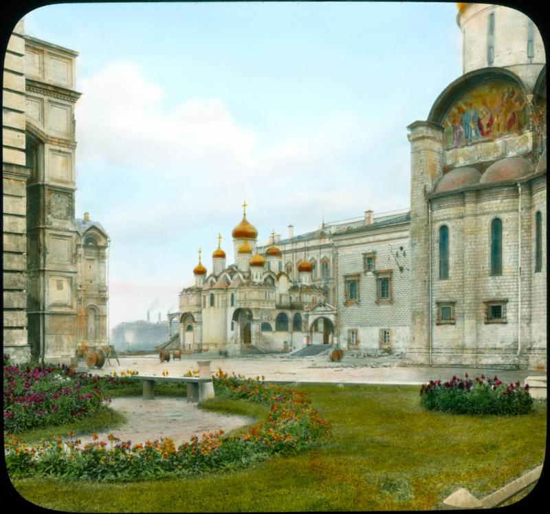 Москва. Кремль, Грановитая палата. Красное крыльцо