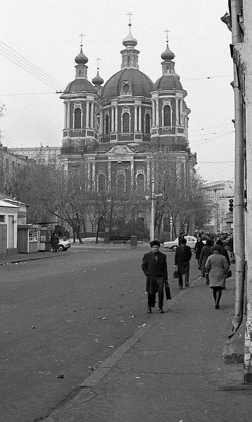 На улицах Москвы