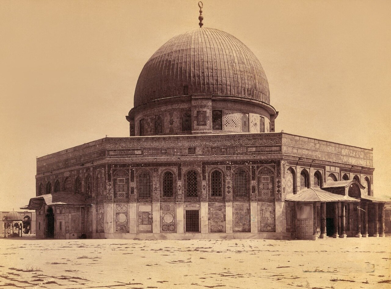 Мечеть Омара. Купол Скалы. Иерусалим. 1900-1910