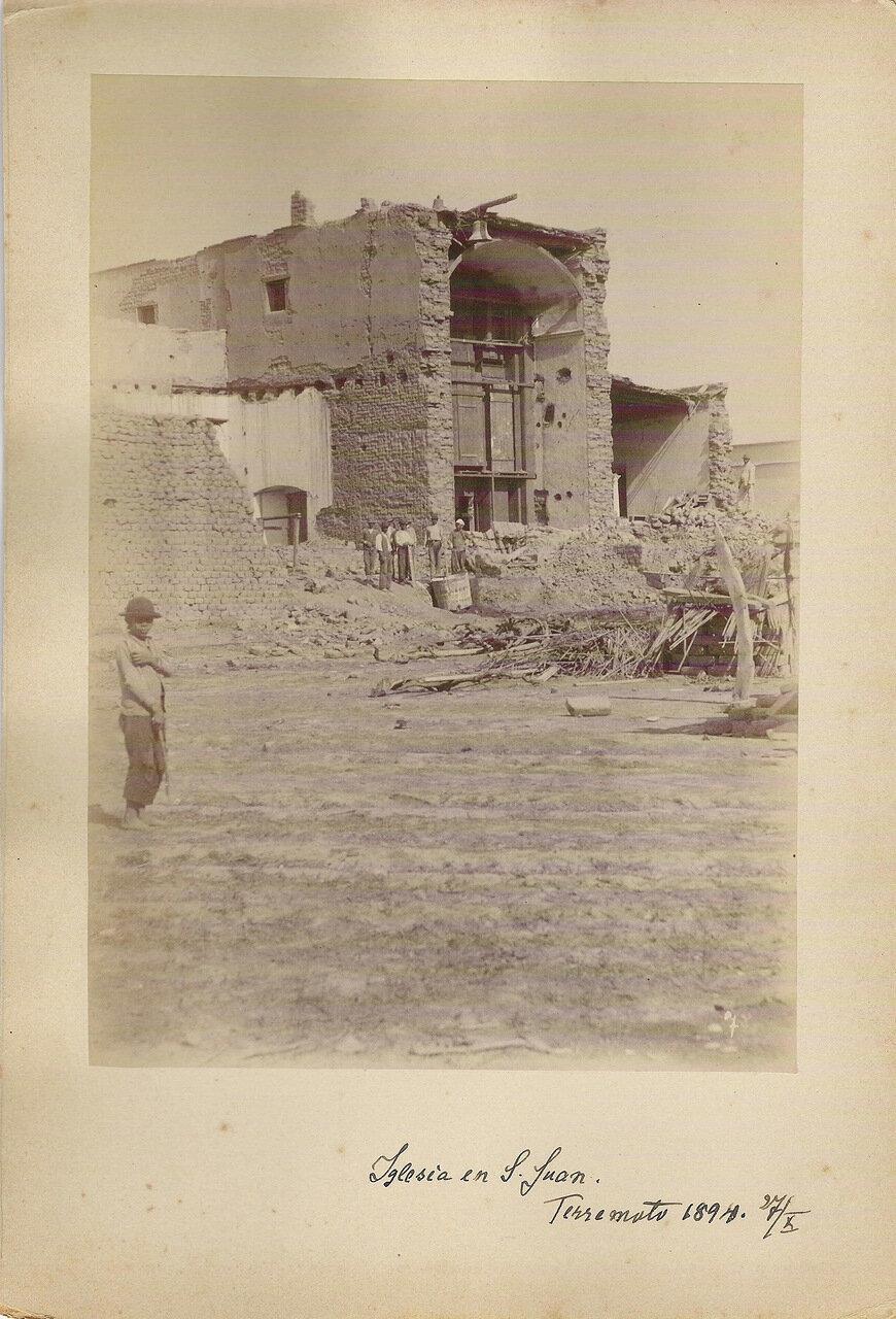 Землетрясение в Сан-Хуане, 27 октября 1894