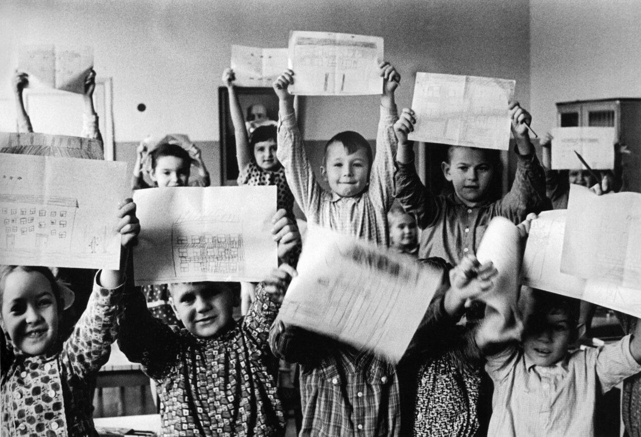 В детском саду 1945 г.