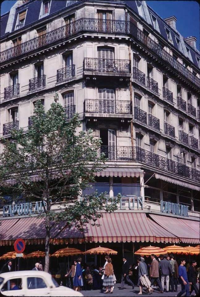 Угол бульваров Сен-Мишель и Суффле