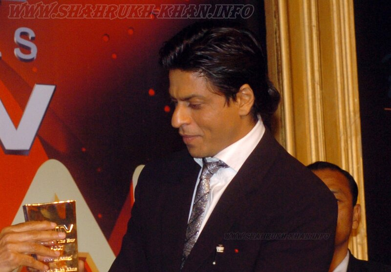 SRK at NDTV Indian of the Year Awards Function', in New Delhi on January 17, 2008