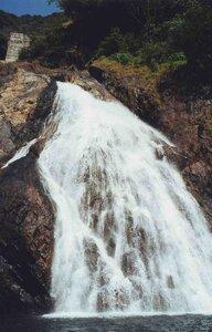 Анна Печенова, Индия, штат Гоа - Водопад Дудхсагар