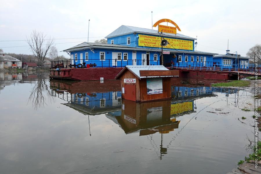 Река Трубеж. Кремлевская пристань