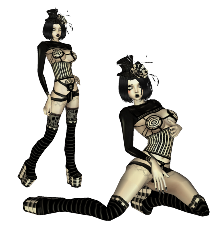 black_and_white_duo_by_catonablade-d2zfkqy.png