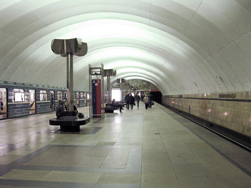 Станция метро Тимирязевская.
