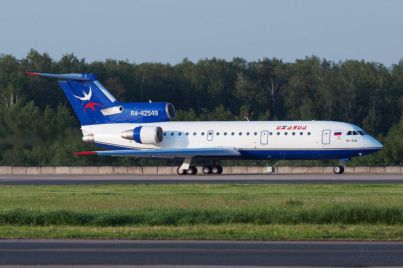 Яковлев Як-42Д (RA-42549) Ижавиа DSC0615