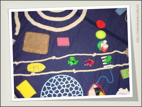 Методика Марии Монтессори. Развивающий коврик для детей. Автор: Юна Рязанкина