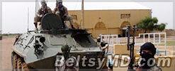 Операция «Сервал» — французские танки отправились на север Мали