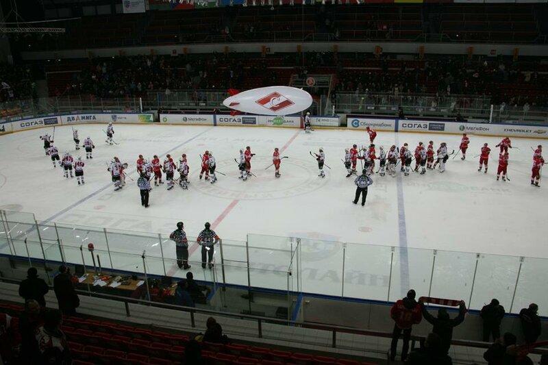 «Спартак» vs «Авангард» 0:3 чемпионат КХЛ 2012-2013 (Фото)