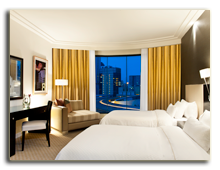 Малайзия. The Westin Kuala Lumpur. Deluxe City view Room
