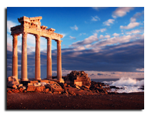 Сиде. Храм Апаллона