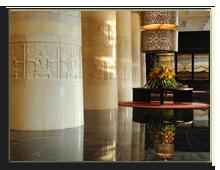 ОАЭ. Дубаи. Raffles Dubai. Lobby