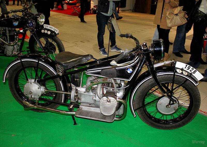Немецкий мотоцикл BMW R62 1928 г.