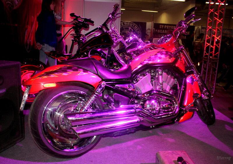 Мотоцикл мотоклуба «Werewolf MC»