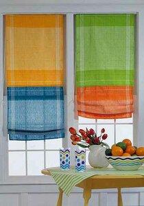 Римская штора из полотенец