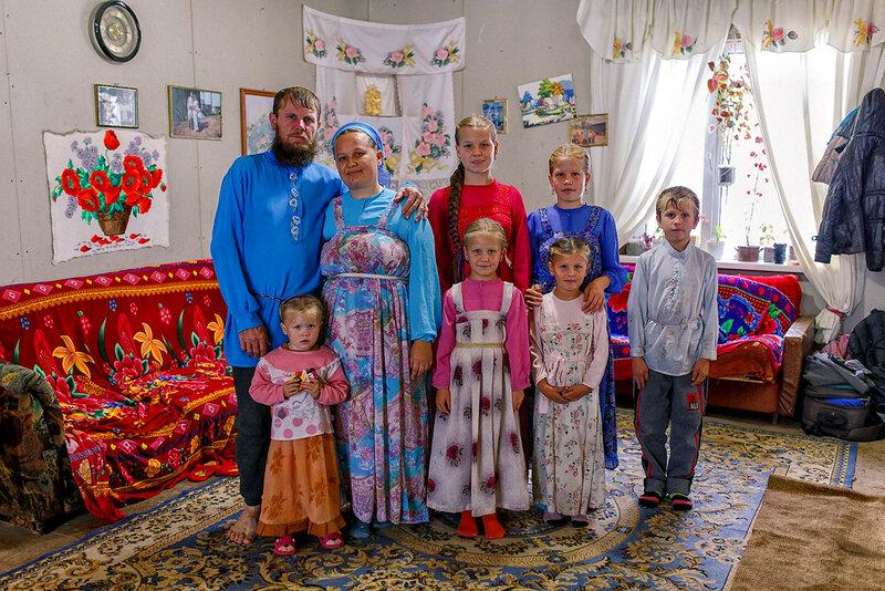 Русские староверы из деревни Дерсу