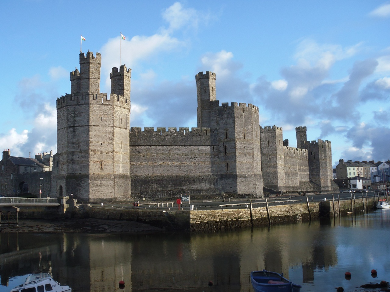 Живопись фото замок карнарвон 5