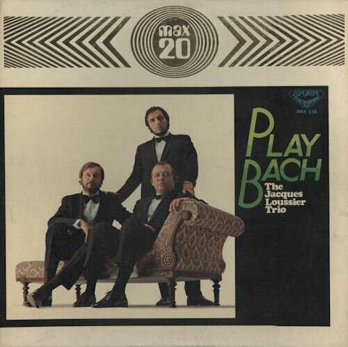 Jacques Loussier Trio - Play Bach (1972) FLAC