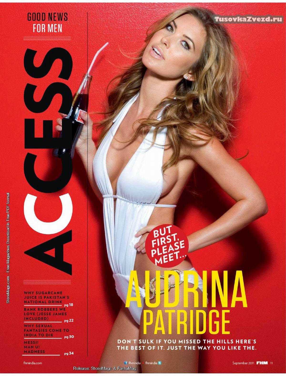 Одрина Пэтридж (Audrina Patridge) фото в журнале FHM Индия, сентябрь 2011