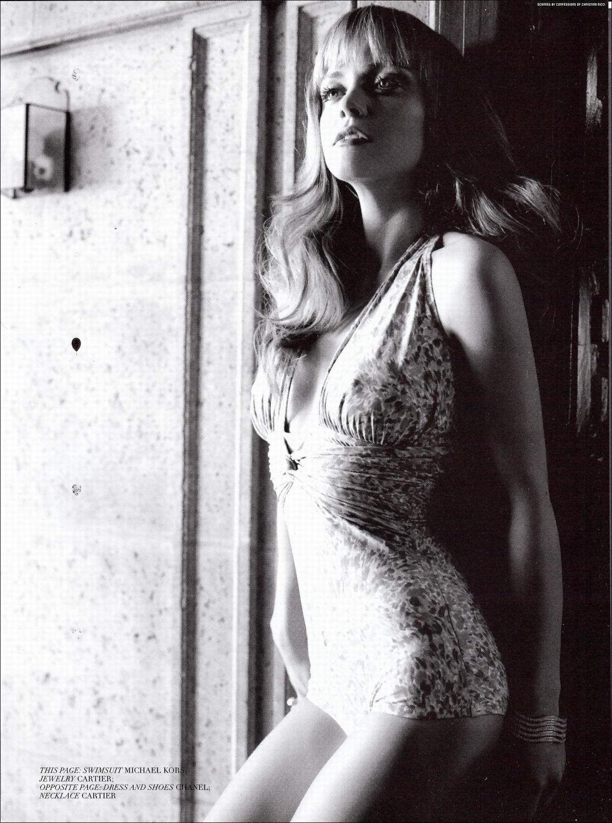 Кристина Риччи (Christina Ricci) голая, фото в журнале Giant, май 2008