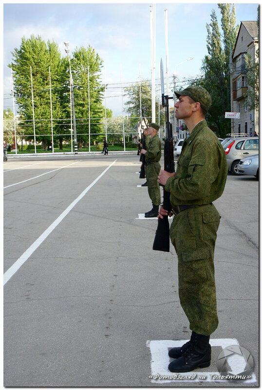 Репетиция военного Парада 9 мая в Тольятти