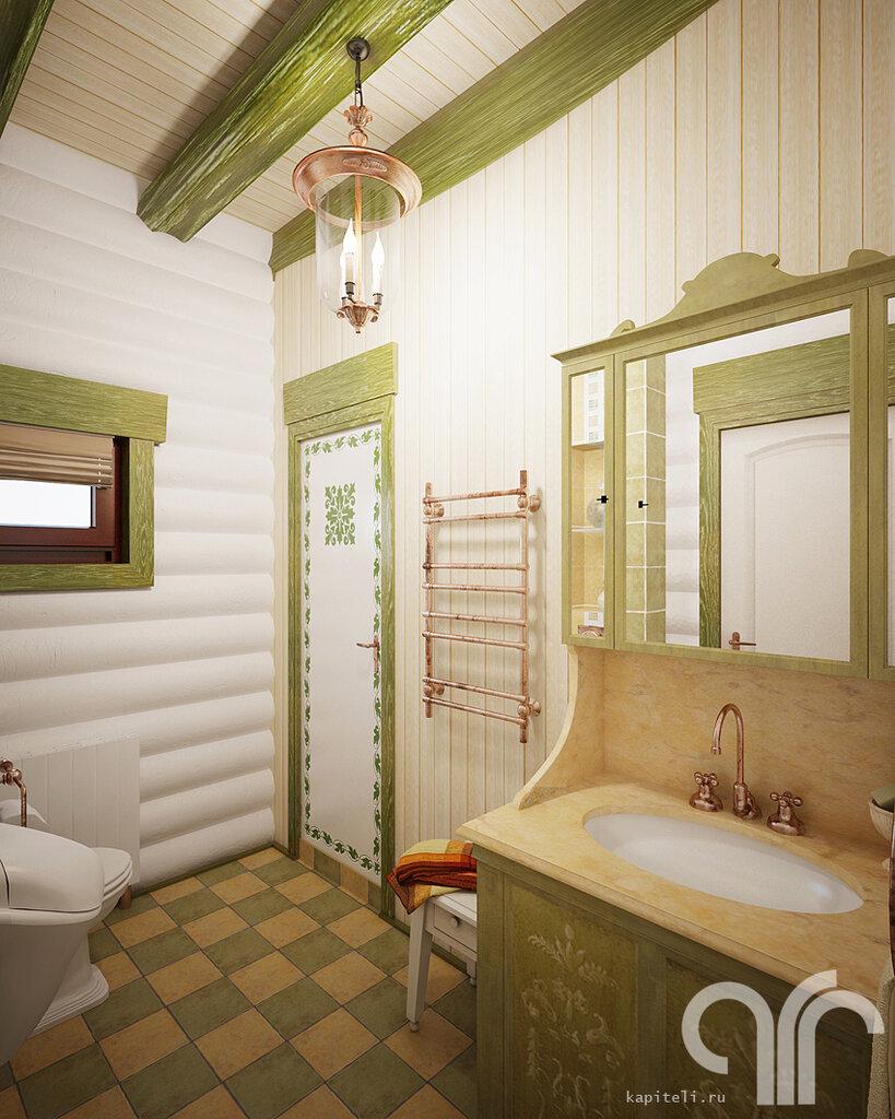 санузел в деревянном доме фото дизайн оздоровительного