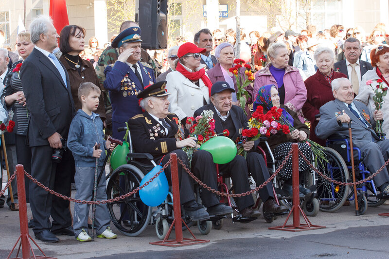 Парад Победы в Краснознаменске. 2013.05.09