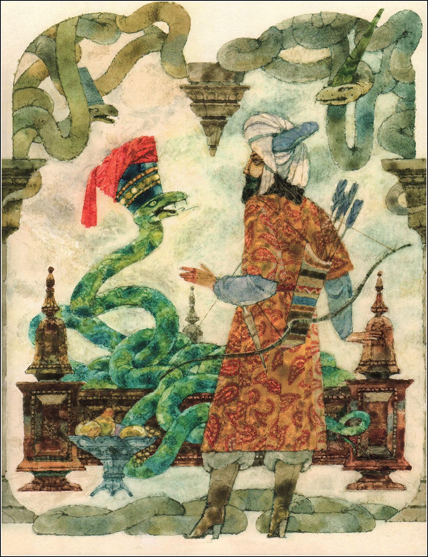 Нусрет Гаджиев, С неба упало три яблока. Азербайджанские сказки.