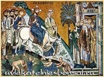Икона. Вход Господень в Иерусалим