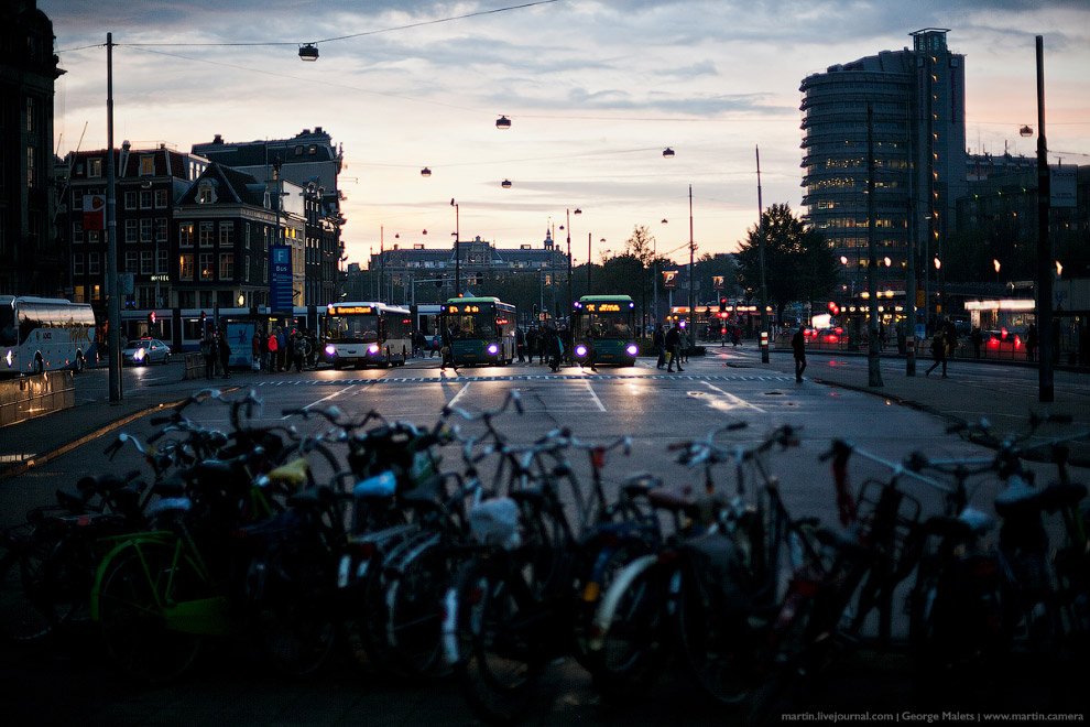 Ну как вам Амстердам?