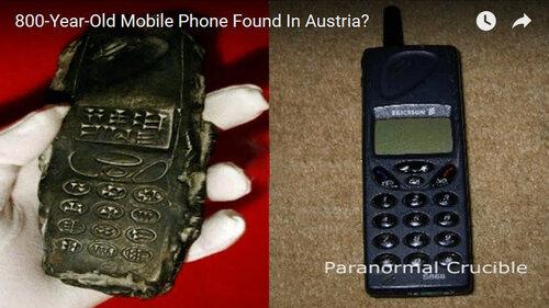 При раскопках в окрестностях австрийского Зальцбурга археологи обнаружили древний сотовый телефон