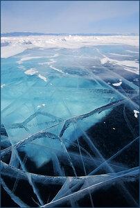 Лёд Байкала