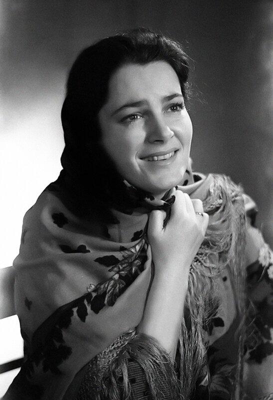 """Аксинья - Элина Быстрицкая, """"Тихий Дон"""", 1957 год."""