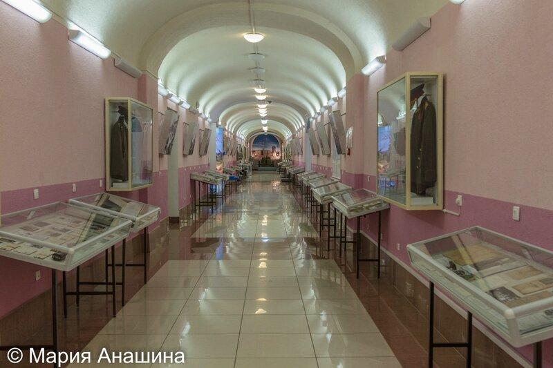 Экспозиция музея ВДВ в Рязани
