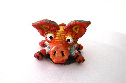 поросенок, глиняная свинья