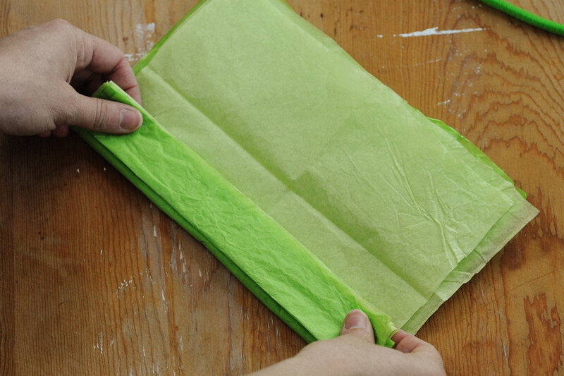 Папиросная бумага как сделать