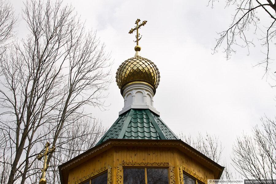 Церковь преподобного Феодора Санаксарского в Макаровском монастыре Саранск