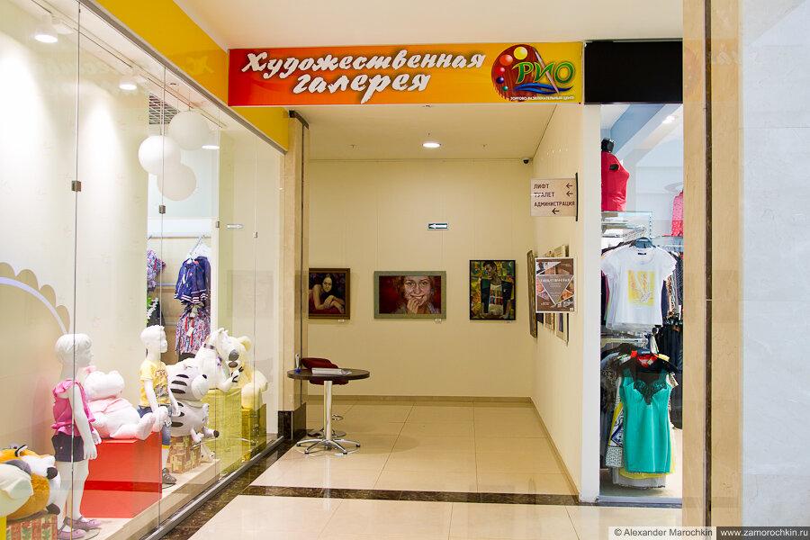 Художественная галерея в ТРЦ РИО Саранск