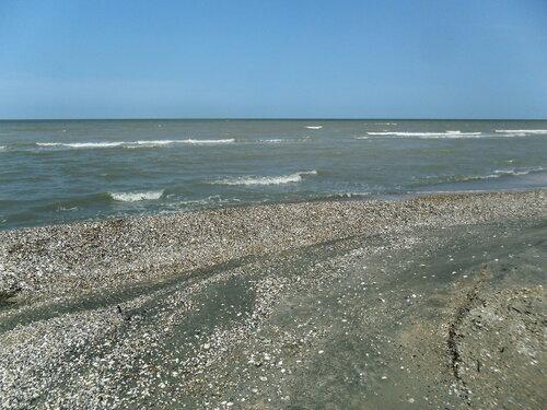 Август 2012, поход, Азовское побережье, Ачуевская коса