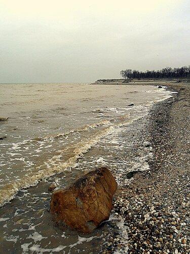 На Азовском берегу, февраль