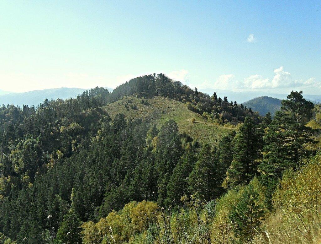 На тропе туристической, Кавказ, сентябрь 2012