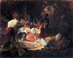 Карл Брюллов, живопись, Бахчисарайский фонтан