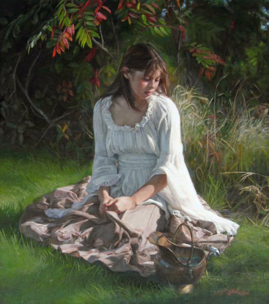 Я по рощице ходила...Реализм художницы Ardith Staros