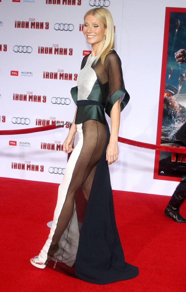 Гвинет Пэлтроу в мега-платье