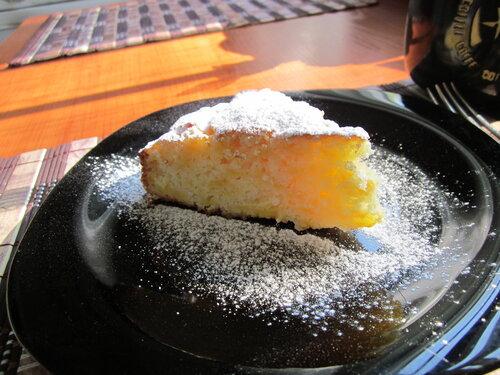 Пирог из замороженной тыквы