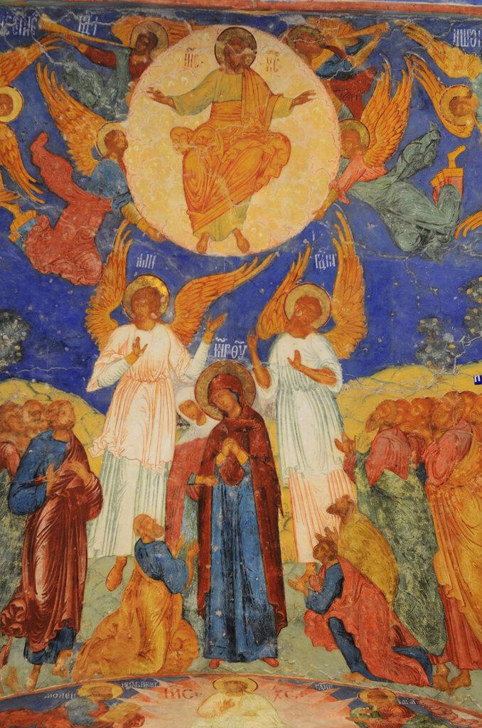 Фрески Гурия Никитина в Преображенском соборе Суздаля